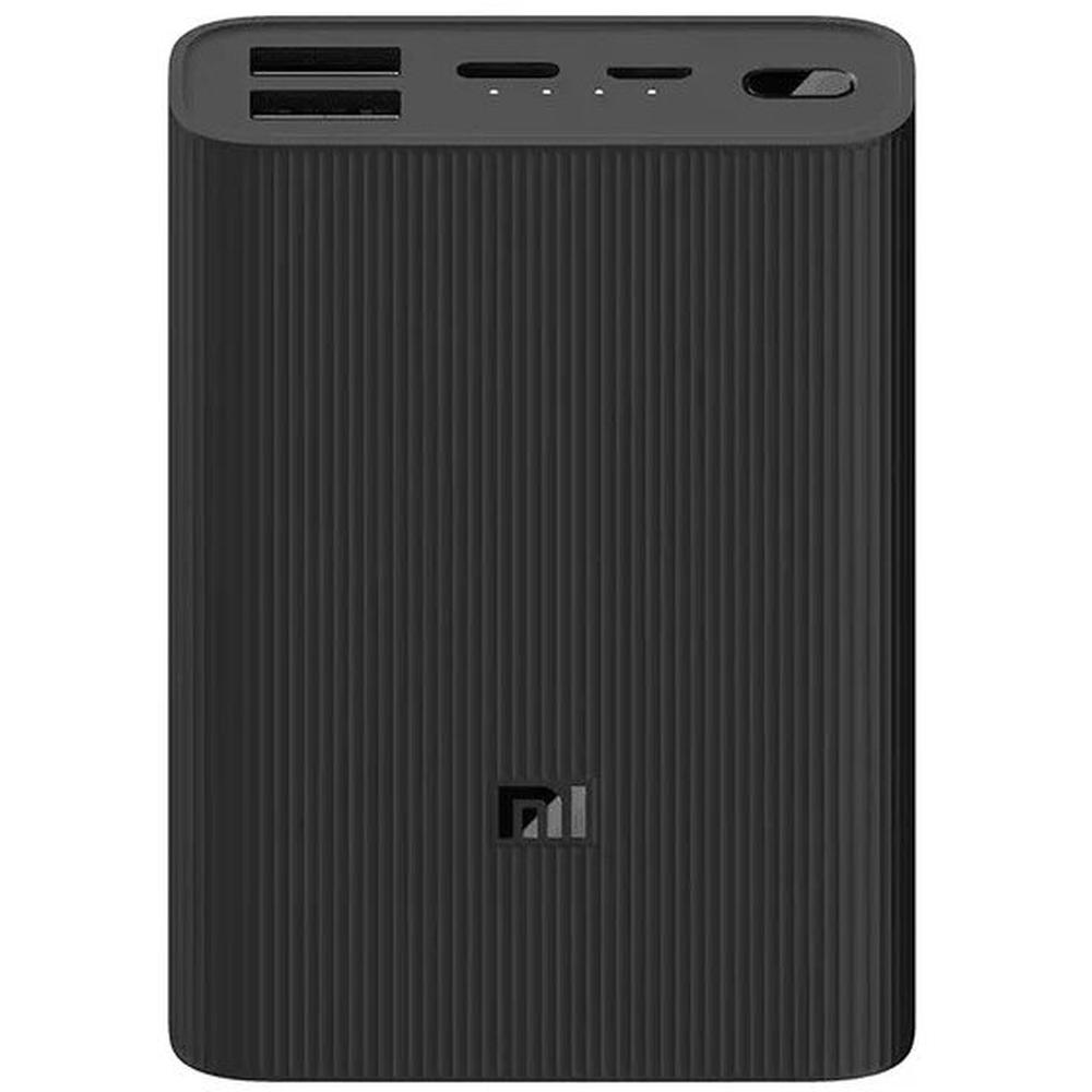 Фото - Внешний аккумулятор Xiaomi Mi Power Bank 3 Ultra compact 10000 mAh, черный проектор xiaomi mi smart compact projector m055mgn бело серый wi fi [x24812]