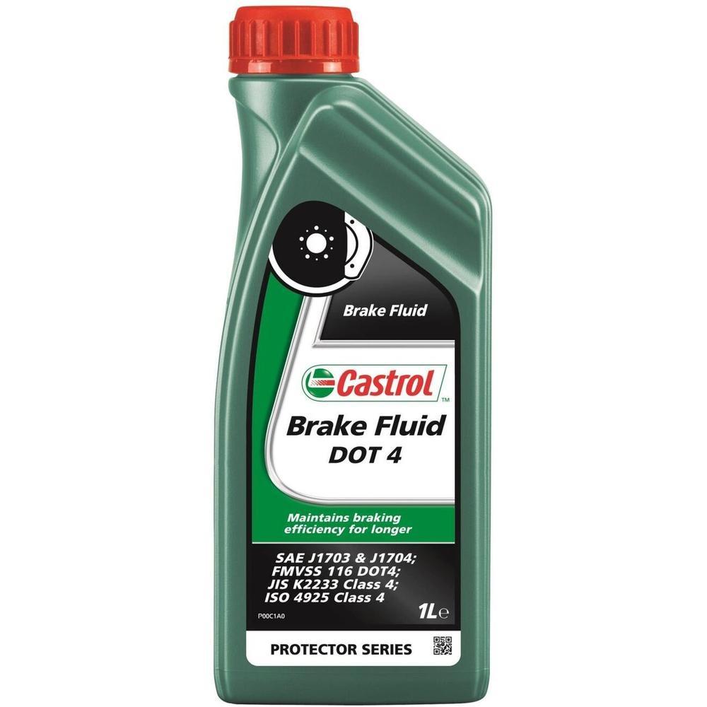 Тормозная жидкость Castrol Brake Fluid DOT 4 1 л тормозная жидкость bosch dot 4 brake fluid 1 л