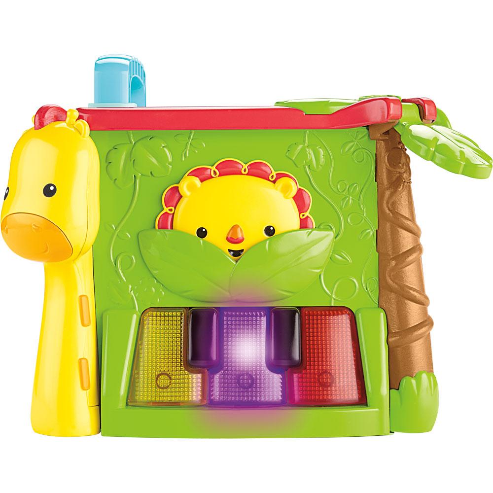 Фото - Интерактивная развивающая игрушка Fisher-Price Обучающий игровой кубик (GHT89) игровой набор mattel fisher price доктор ggt61