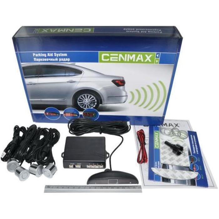 Парковочный радар Cenmax РS-4.1 4датч. 20мм серебристый
