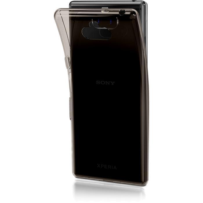 Чехол для Sony I4113 Xperia 10 Brosco силиконовая накладка, черный чехол для sony h4113 xperia xa2 brosco накладка розовый