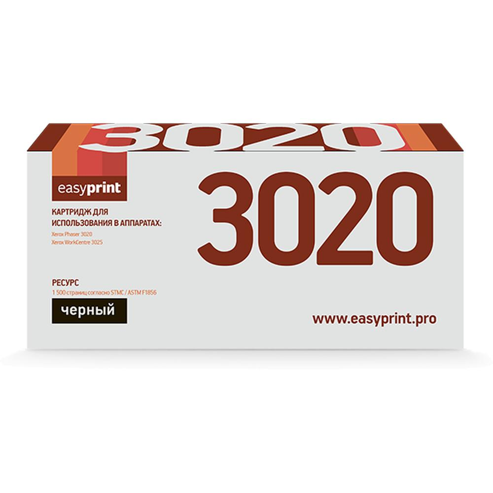 Фото - Картридж EasyPrint LX-3020 (106R02773) для Xerox Phaser 3020/WorkCentre 3025 (1500 стр.) с чипом 106R02773 картридж t2 для xerox phaser 3020 workcentre 3025 1500стр черный 106r02773