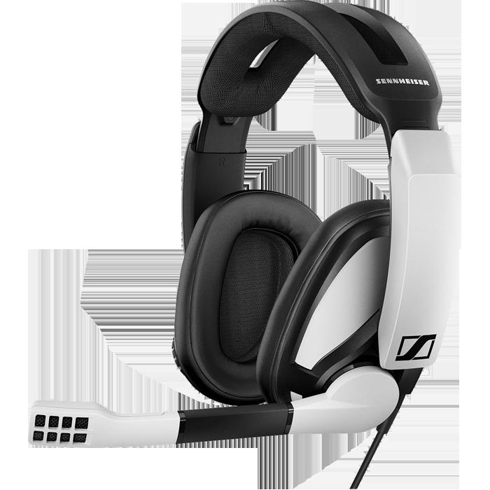 Гарнитура Sennheiser GSP 301 Black\White игровая гарнитура sennheiser gsp 301 507202