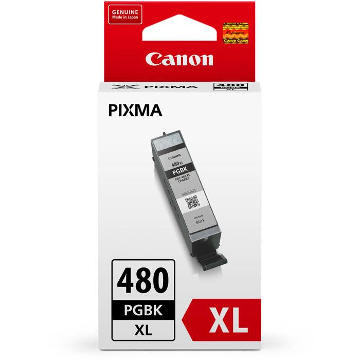 Фото - Картридж Canon PGI-480PGBK XL для TS6140, TR7540, TR8540, TS8140, TS9140 Чёрный. картридж canon pgi 1400c xl 9202b001