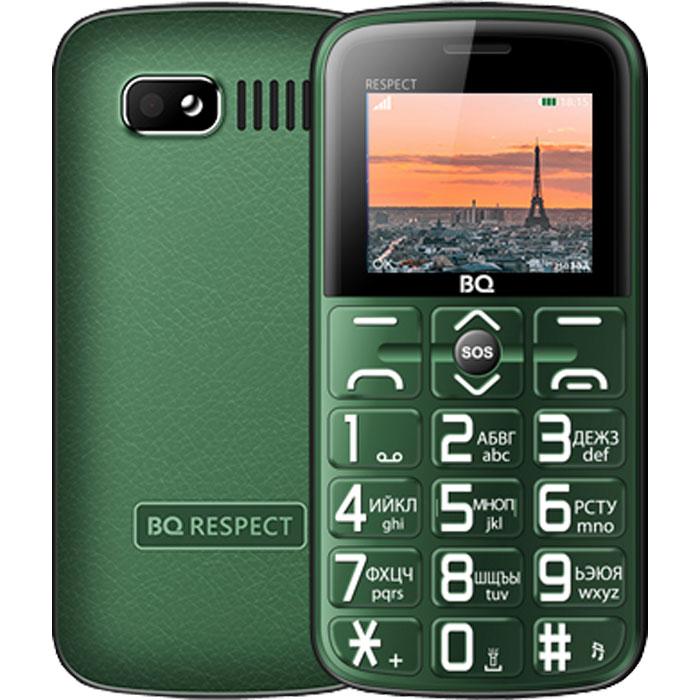Мобильный телефон BQ Mobile BQ-1851 Respect Green мобильный телефон bq elegant 3595 серый
