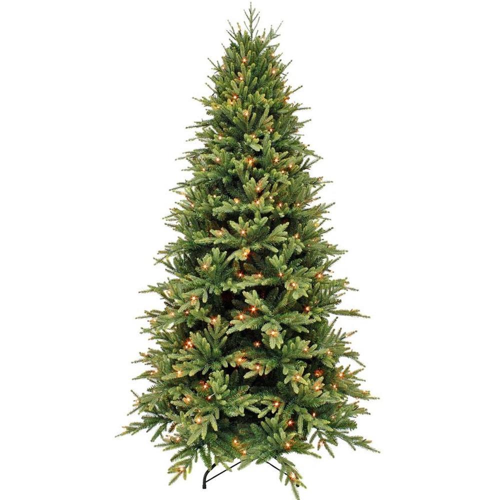 Triumph Tree Ель Королевская Стройная Зеленая (лампы) 2.15