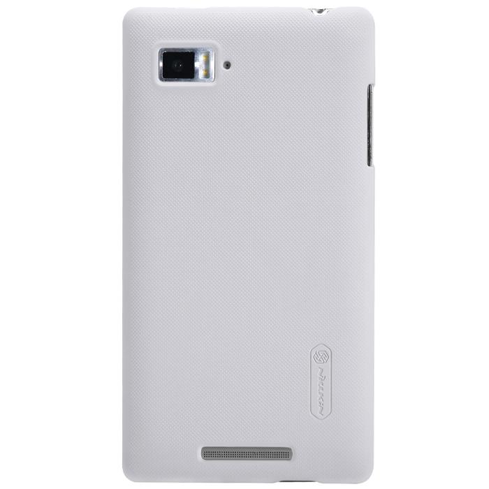 Чехол для Lenovo IdeaPhone K910 Vibe Z Nillkin Super Frosted Shield белый