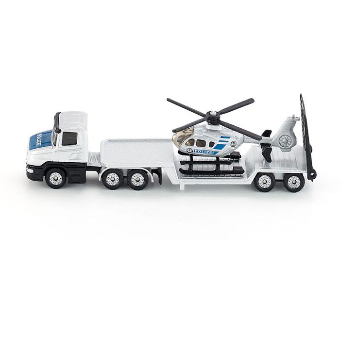 Siku модель грузовика с вертолетом полицейским 1610