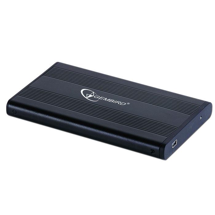 Фото - Корпус 2.5 Gembird EE2-U2S-5, SATA-USB2.0 Black корпус 2 5 gembird ee2 u3s 60 sata usb3 0 black