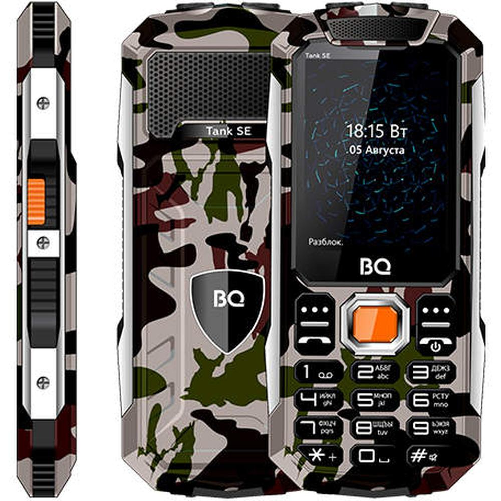 Фото - Мобильный телефон BQ Mobile BQ-2432 Tank SE Military Green сотовый телефон bq 2432 tank se black