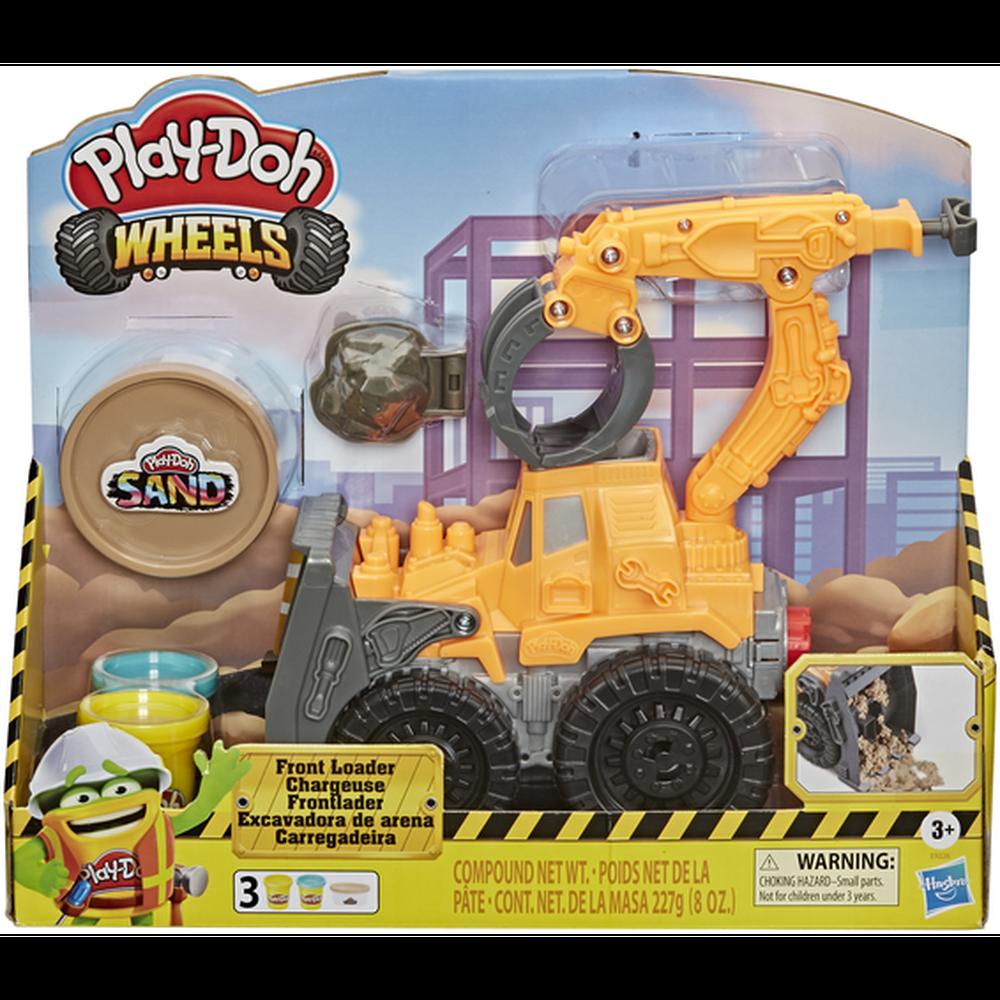 Фото - Игровой набор с пластилином Hasbro Play-Doh Wheels Погрузчик E9226 игровой набор специальной массы hasbro play doh wheels e4508