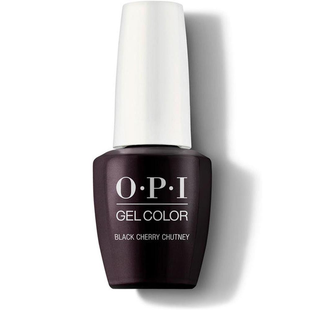 OPI Гель-лак для ногтей Classics GelColor Black Cherry Chutney, 15 мл. недорого