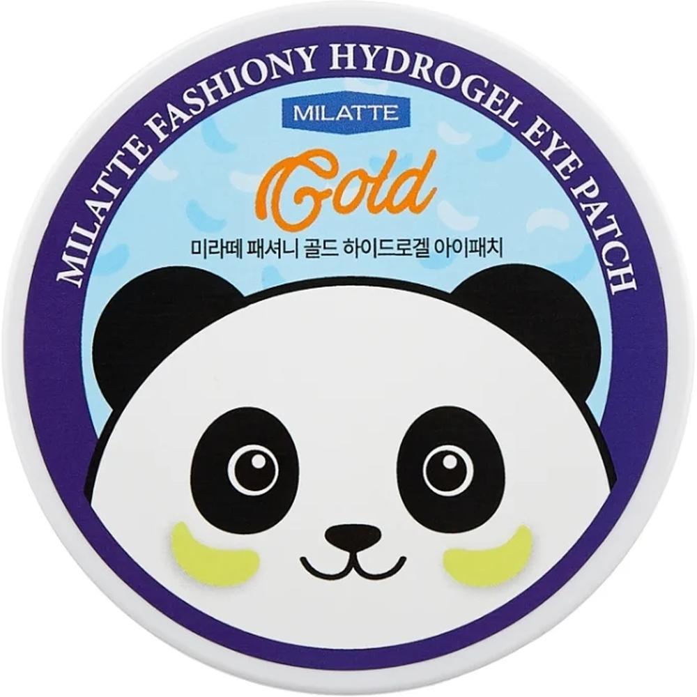 Milatte Гидрогелевые патчи для кожи вокруг глаз Fashiony Gold Hydrogel Eye Patch, 60 шт.