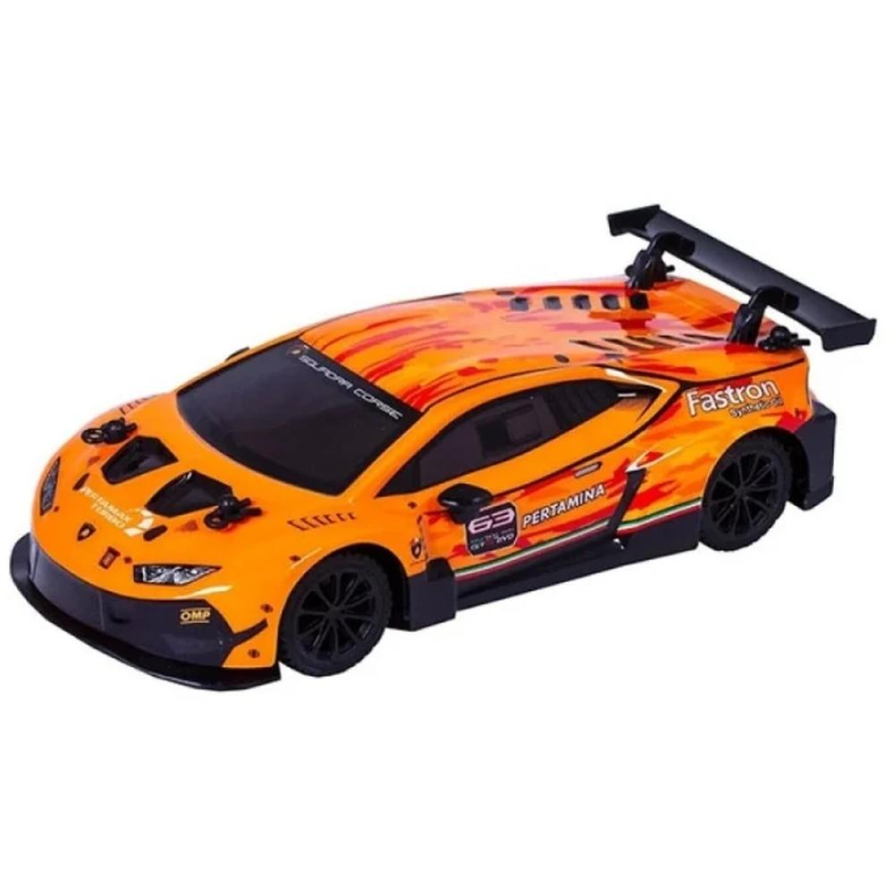 Фото - Радиоуправляемая машинка Wincars Lamborghini Huracan GT3 (лицензия), Р/У, масштаб 1:24 YS-2037 машинка wincars mercedes amg c63 dtm 1 24 на р у