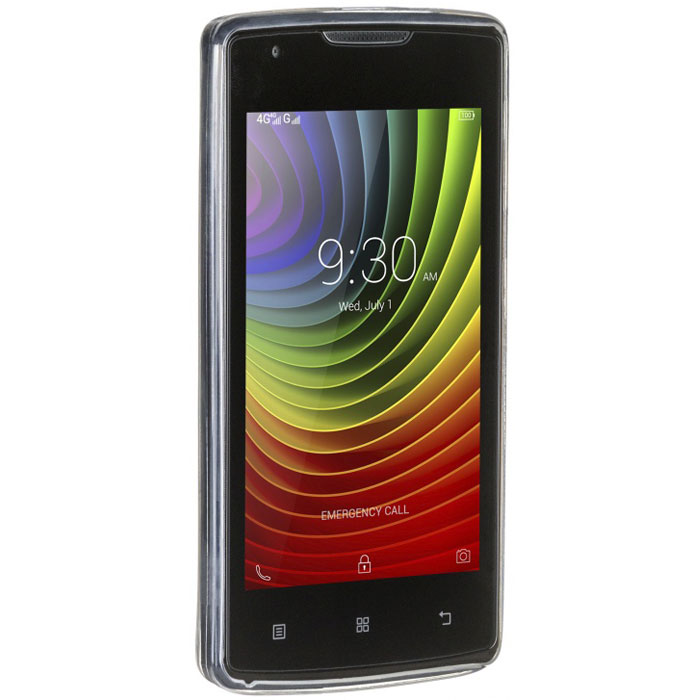 Чехол для Lenovo IdeaPhone A1000 iBox Crystal прозрачный