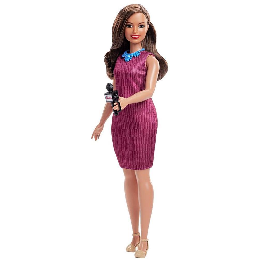 Кукла Mattel Barbie серия Кем быть юбилейная GFX23/GFX27 Журналист