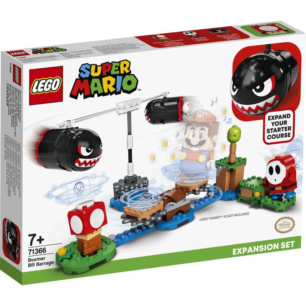 LEGO Super Mario Огневой налёт Билла-банзай. Дополнительный набор 71366