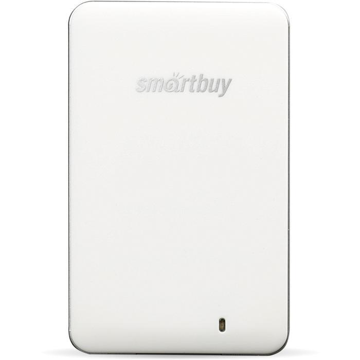 Фото - Внешний SSD-накопитель 1.8 1024Gb Smartbuy S3 Drive SB1024GB-S3DW-18SU30 (SSD) USB 3.0, Белый внешний ssd smartbuy s3 128 гб черный
