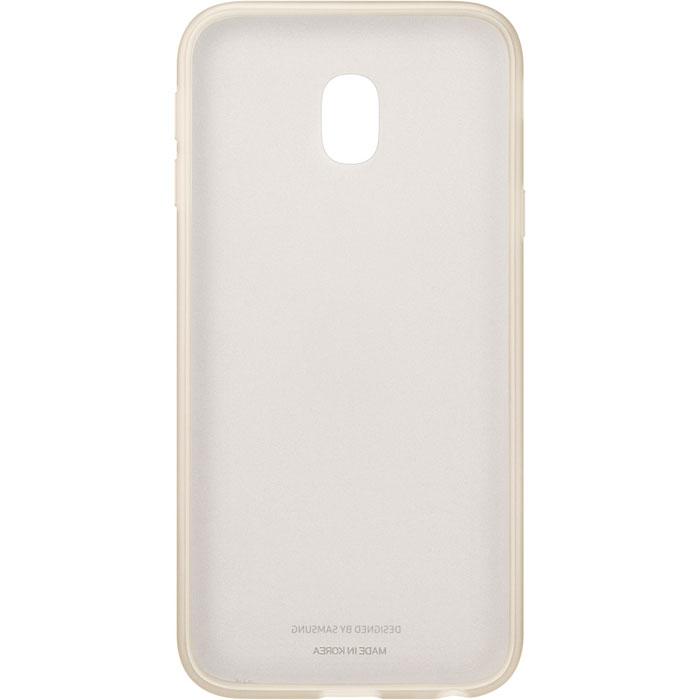 Чехол для Samsung Galaxy J3 (2017) SM-J330F Jelly Cover золотистый недорого