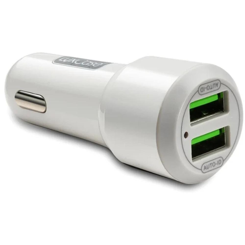Фото - Автомобильное зарядное устройство LuxCase QY-7UP 2U2 2xUSB 2.4A серый замараева з социальная защита и социальное обслуживание населения учебник isbn 9785394028236