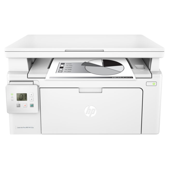 Фото - МФУ HP LaserJet Pro M132a G3Q61A ч/б А4 22ppm мфу hp laserjet pro m132nw g3q62a ч б a4 22ppm 1200 1200dpi 256mb ethernet usb