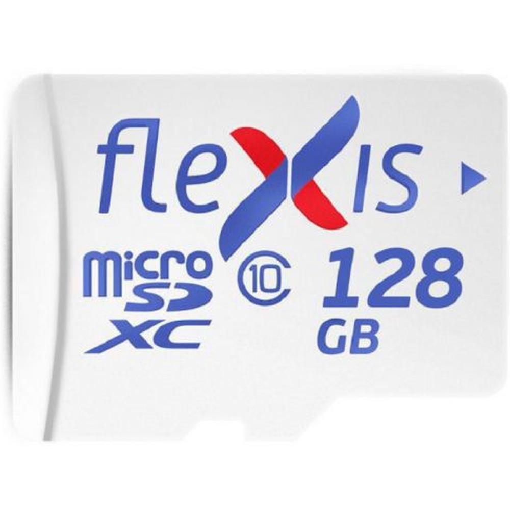 Фото - Карта памяти Micro SecureDigital 128Gb Flexis SDXC class 10 (FMSD128GU1A) + SD adapter карта памяти micro securedigital 128gb kingston canvas select plus sdxc class 10 uhs i sdcs2 128gb sd adapter