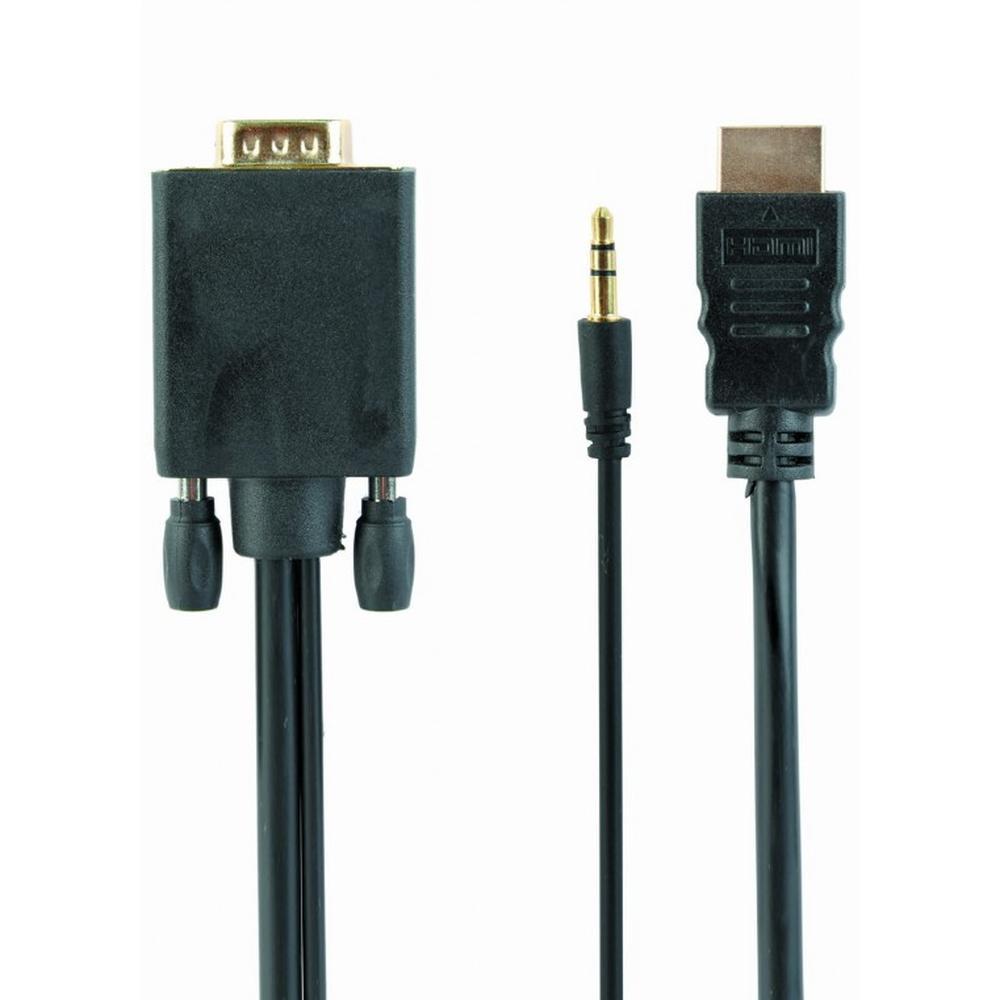 Фото - Переходник HDMI(M) - VGA(M) 1.8м переходник питания sata 15pin m