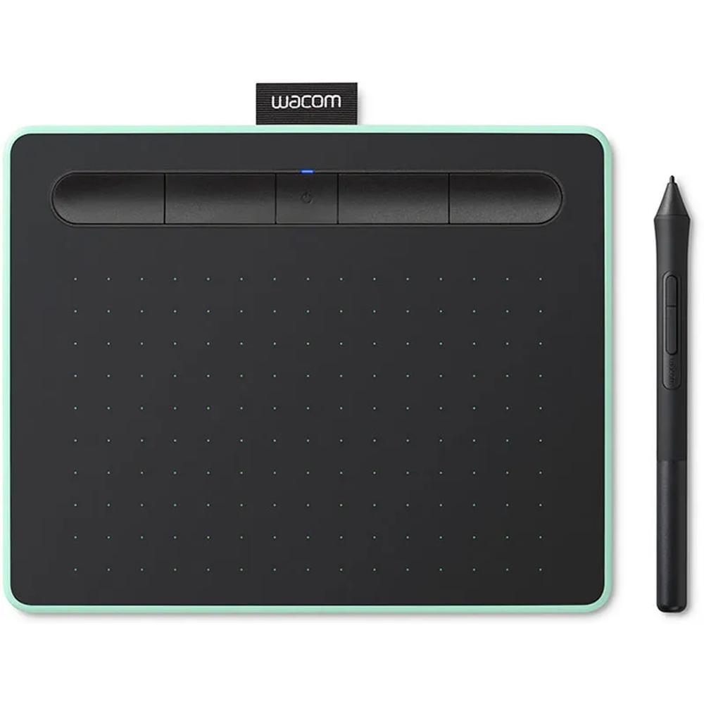 Графический планшет Wacom Intuos Bluetooth Medium + курс основы работы на графическом планшете (CTL-6100WLE-N) Фисташковый
