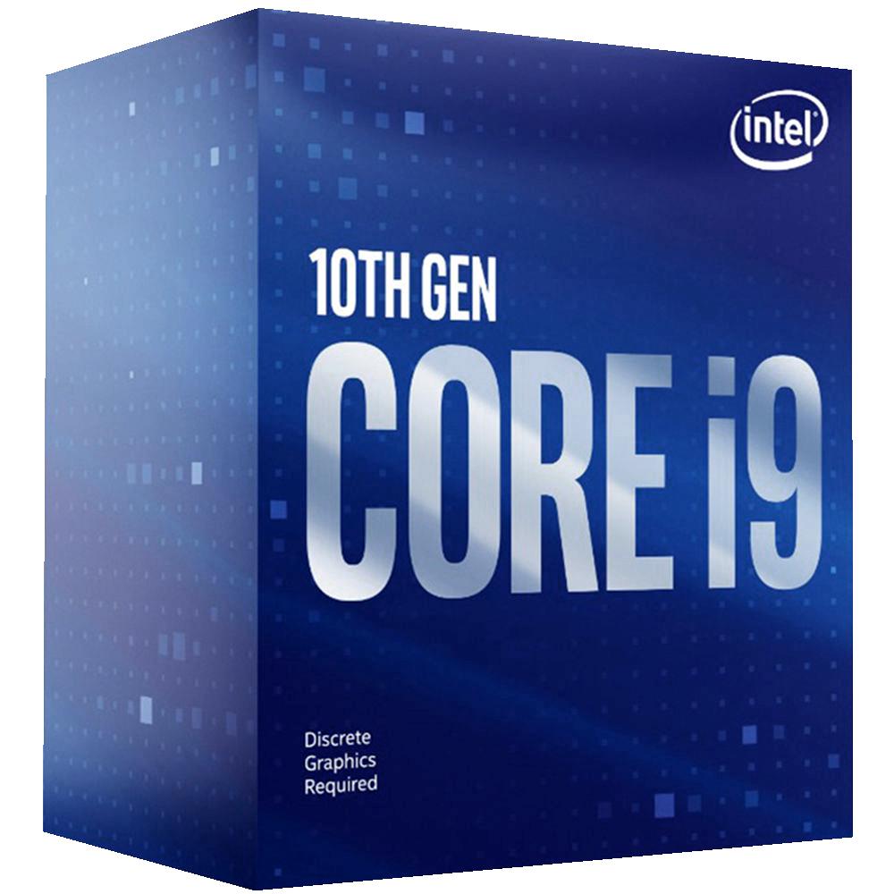 Процессор Intel Core i9-10900F, 2.8ГГц, (Turbo 5.2ГГц), 10-ядерный, L3 20МБ, LGA1200, BOX процессор intel core i9 10900k 3 7ггц turbo 5 3ггц 10 ядерный l3 20мб lga1200 box