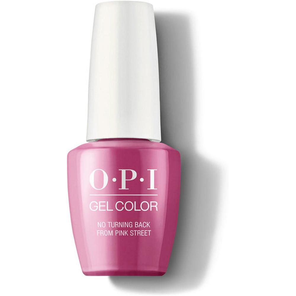 OPI Гель-лак для ногтей GelColor Lisbon No Turning Back From Pink Street, 15 мл. лак opi nail lacquer lisbon 15 мл оттенок no turning back from pink street
