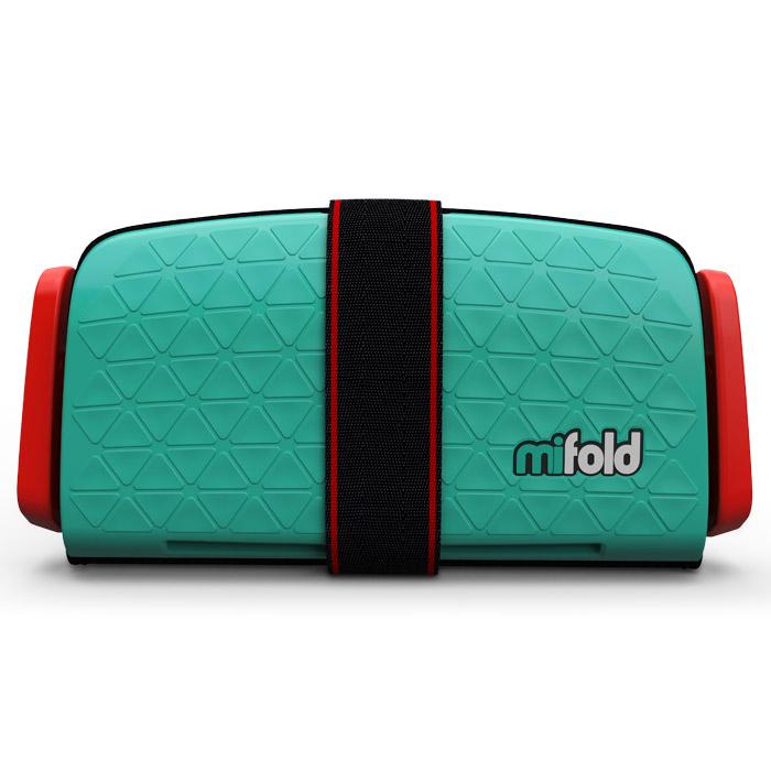 Бустер Mifold the Grab-and-Go Booster seat/Lime Green бустер группа 3 22 36 кг mifold the grab and go booster taxi yellow
