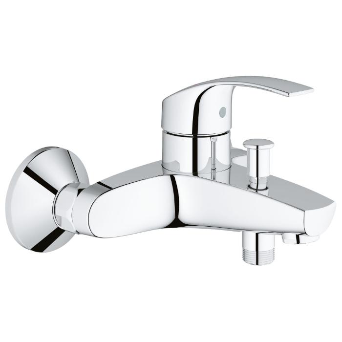Смеситель для ванны Grohe Eurosmart New 33300002 смеситель grohe eurosmart 33300002