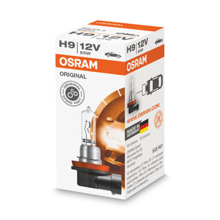 Автомобильная лампа H9 65W Standart 1 шт. OSRAM