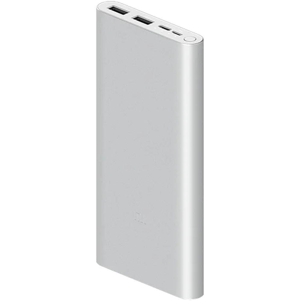 Фото - Внешний аккумулятор Xiaomi Mi Power Bank 3 10000 mAh, серебристый xiaomi mi power bank 2c 20000 mah