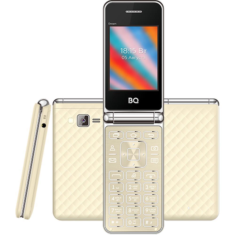 Фото - Мобильный телефон BQ Mobile BQ-2445 Dream Gold мобильный телефон bq mobile bq 2446 dream duo gold