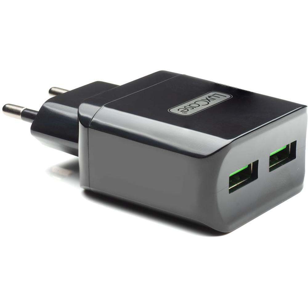 Фото - Сетевое зарядное устройство LuxCase QY-15G 2U2 2xUSB 2.4A черный замараева з социальная защита и социальное обслуживание населения учебник isbn 9785394028236