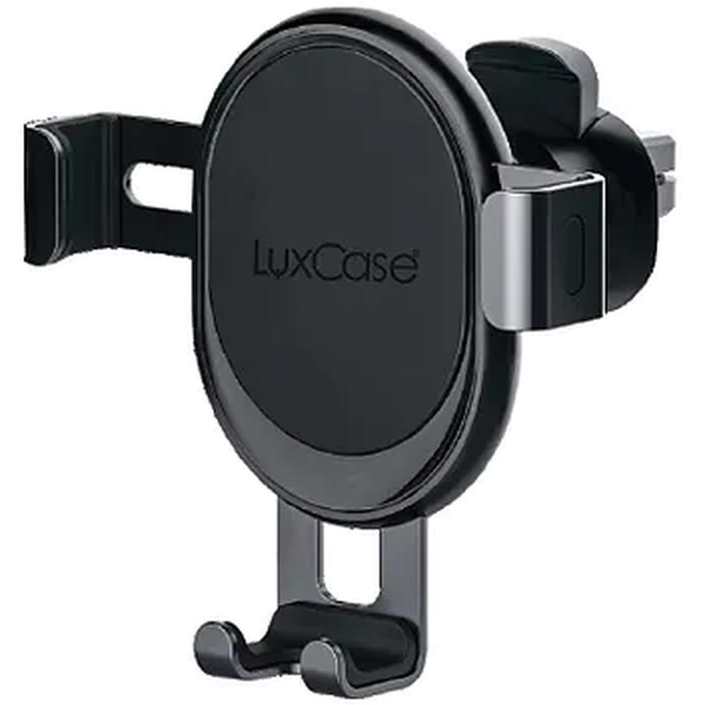 Держатель автомобильный для смартфонов LuxCase CH-G 107, гравитационный, крепление на вентиляционную решетку