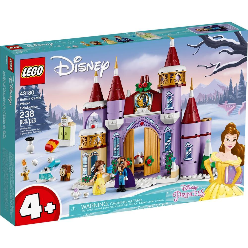 LEGO Disney Princess Зимний праздник в замке Белль 43180 lego disney princess 43178 конструктор лего принцессы дисней праздник в замке золушки
