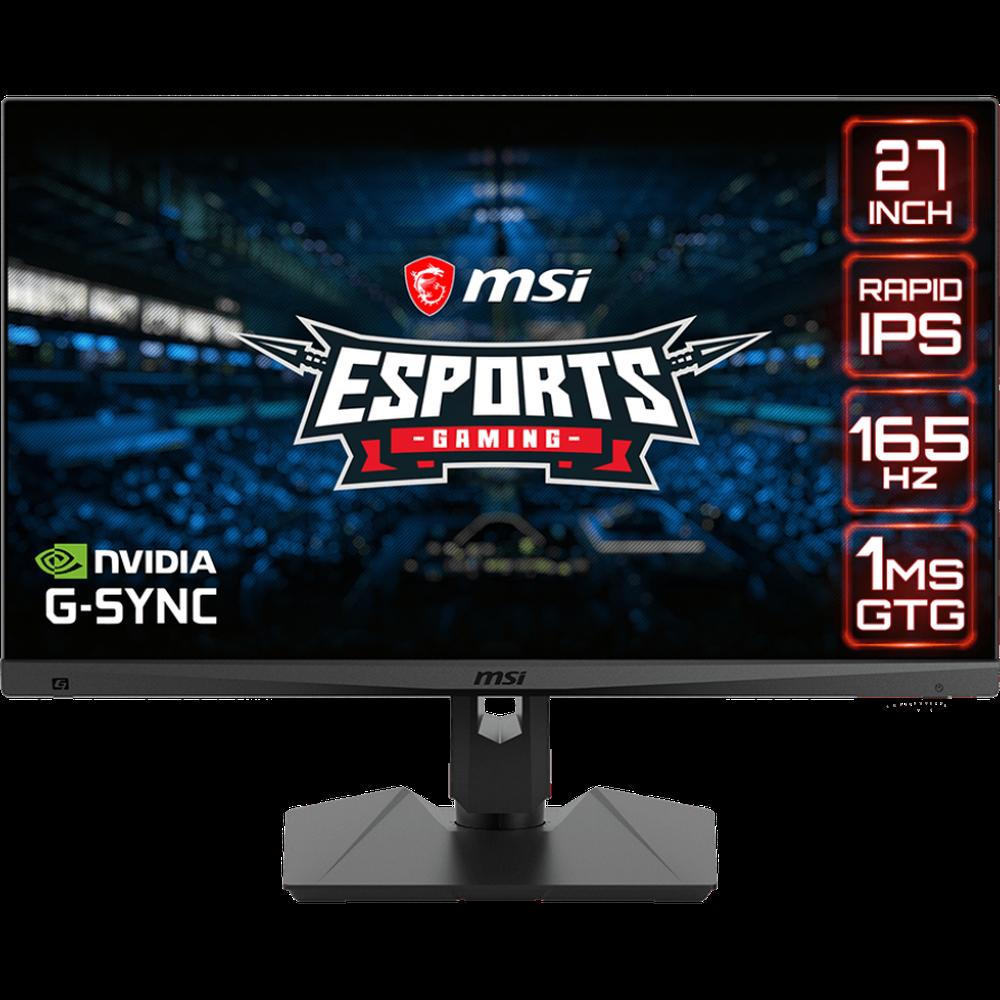 Монитор 27 MSI Optix MAG274QRF IPS 2560x1440 1ms HDMI, DisplayPort монитор 27 dell up2716d ips 2560x1440 6ms hdmi displayport mini displayport