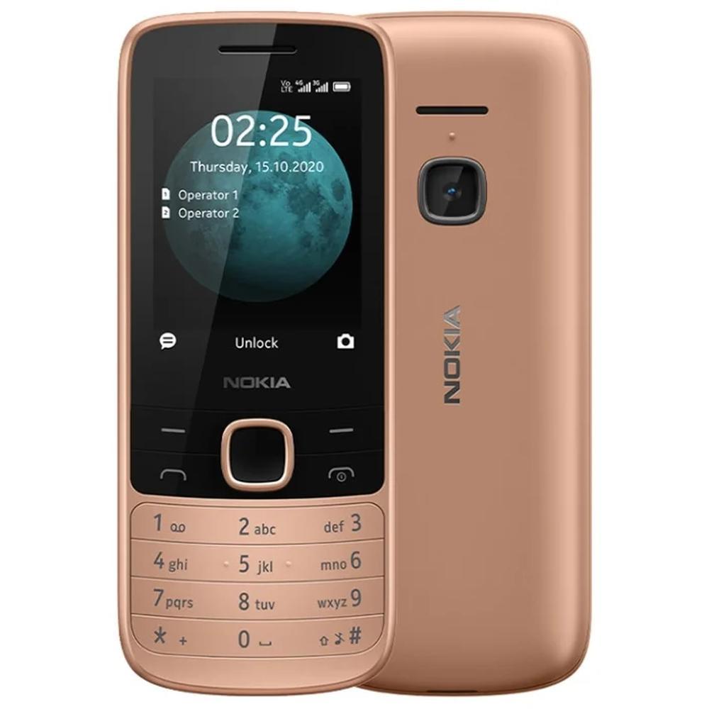Мобильный телефон Nokia 225 4G Dual Sim Sand кнопочный телефон nokia 225 4g sand
