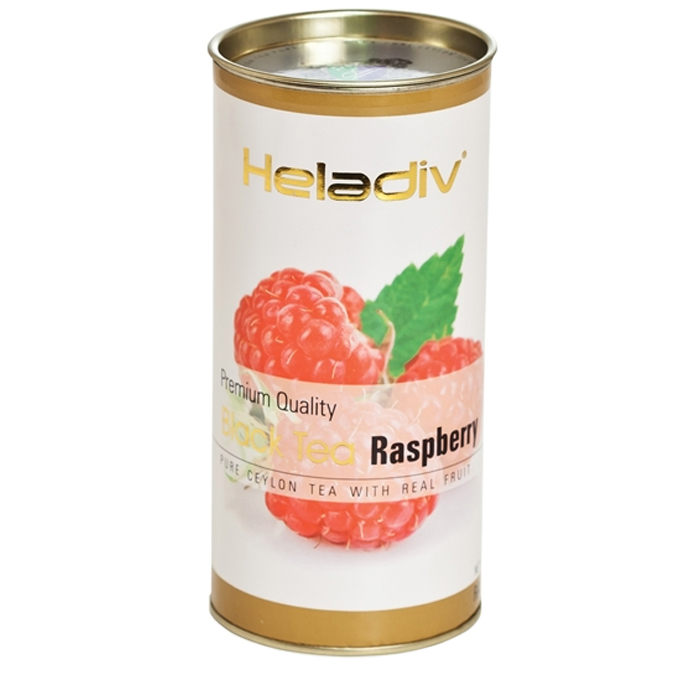 Фото - Чай чёрный Heladiv Raspberry 100 г чай черный heladiv hd rasberry 100 gr round p t