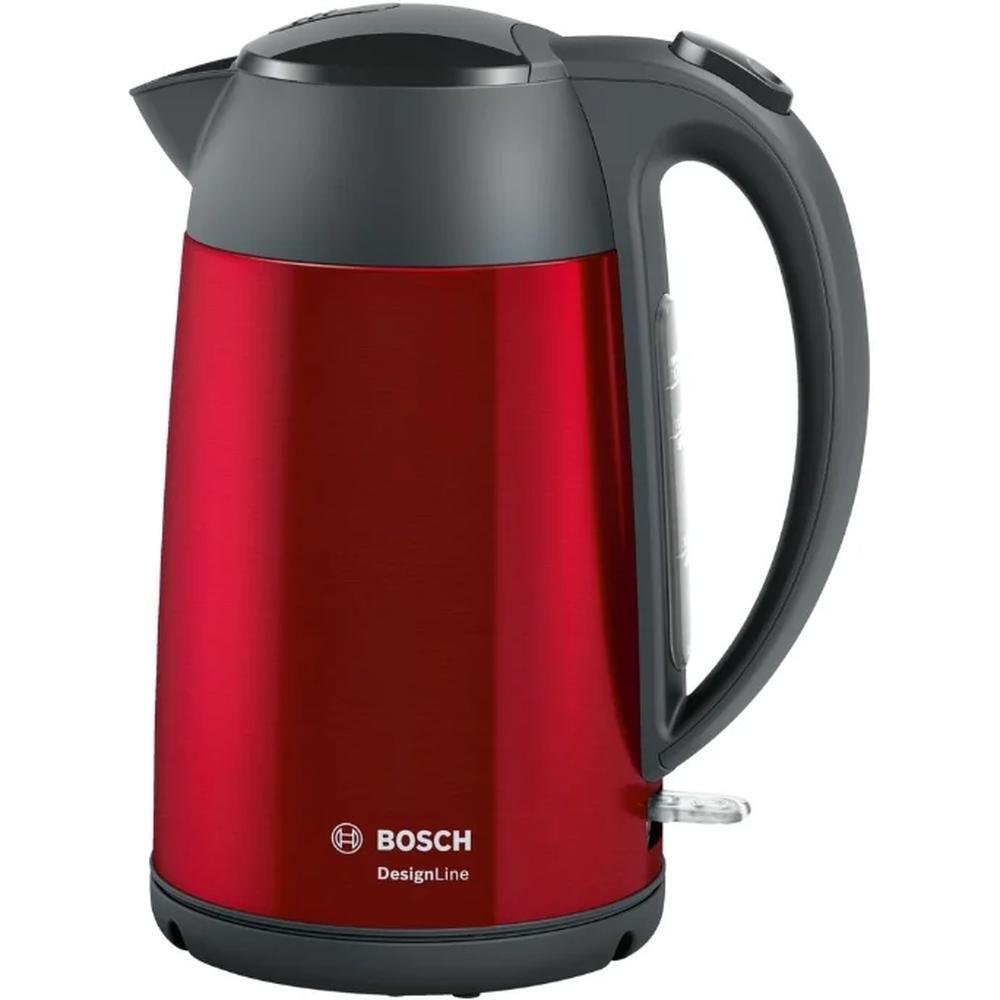 Фото - Электрочайник Bosch TWK 3P424 чайник bosch twk 3p424 red