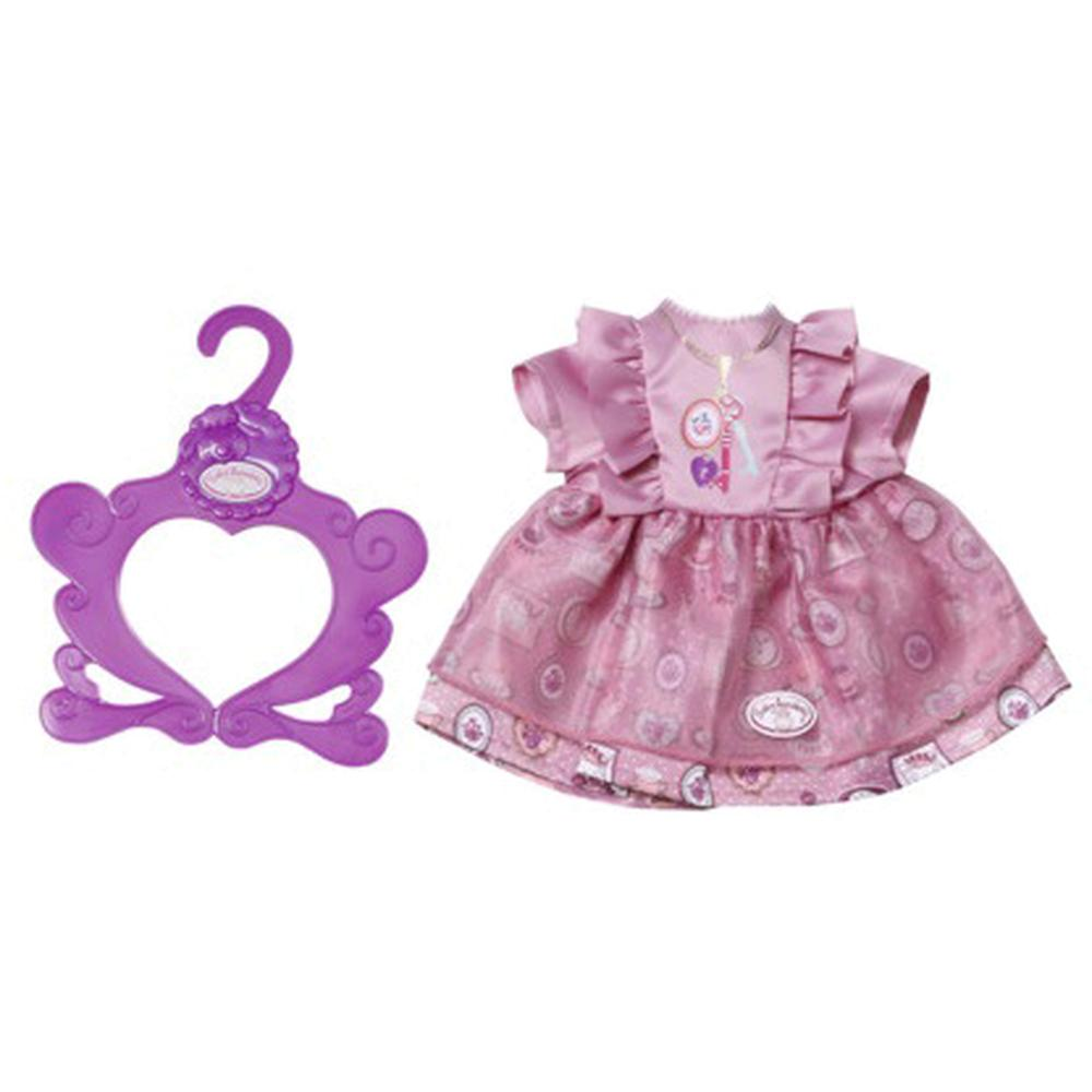 Фото - Zapf Creation Baby Annabell Платье 700-839 Сиреневое бутылочка zapf creation baby annabell 700 976 розовый