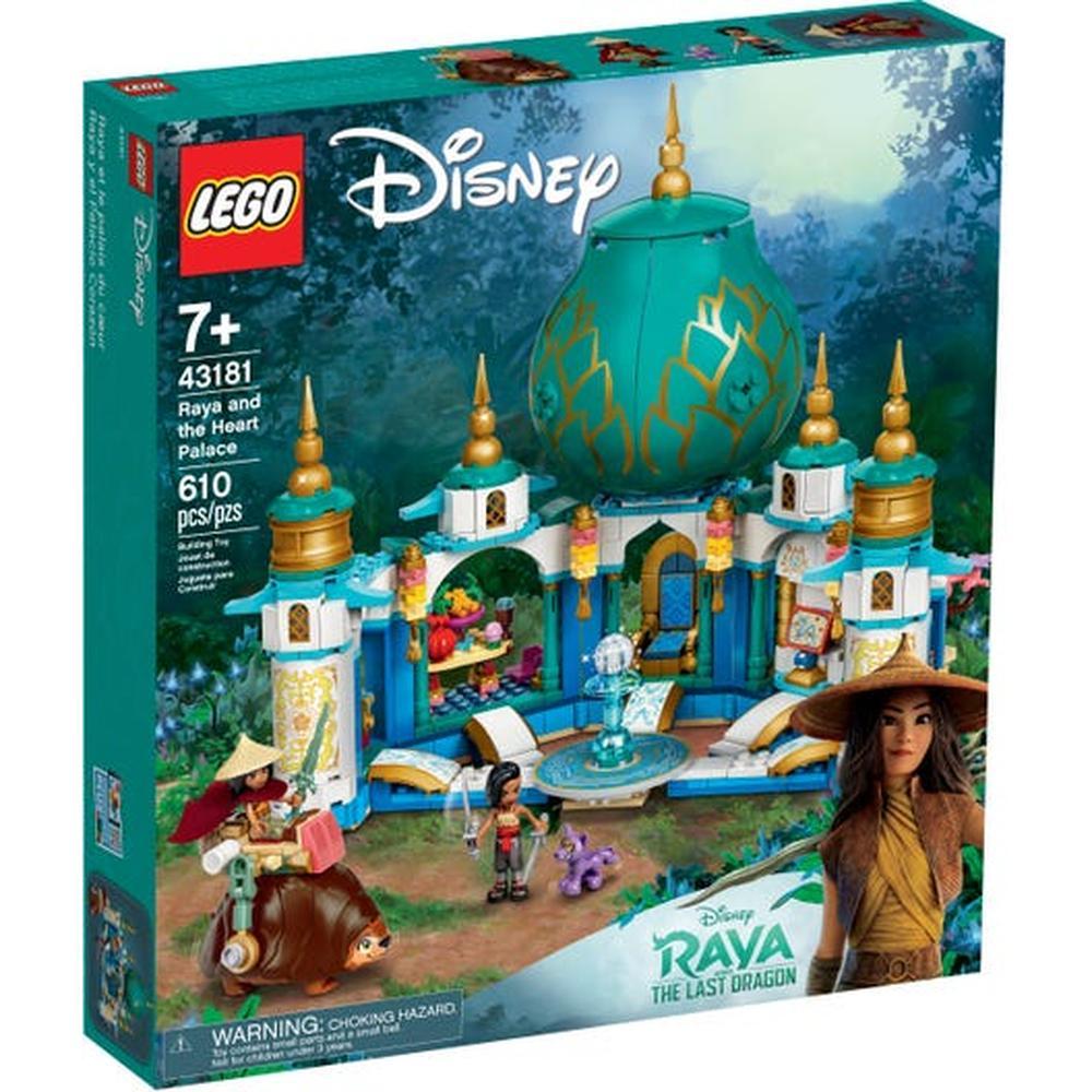 LEGO Disney Princess Райя и Дворец сердца 43181