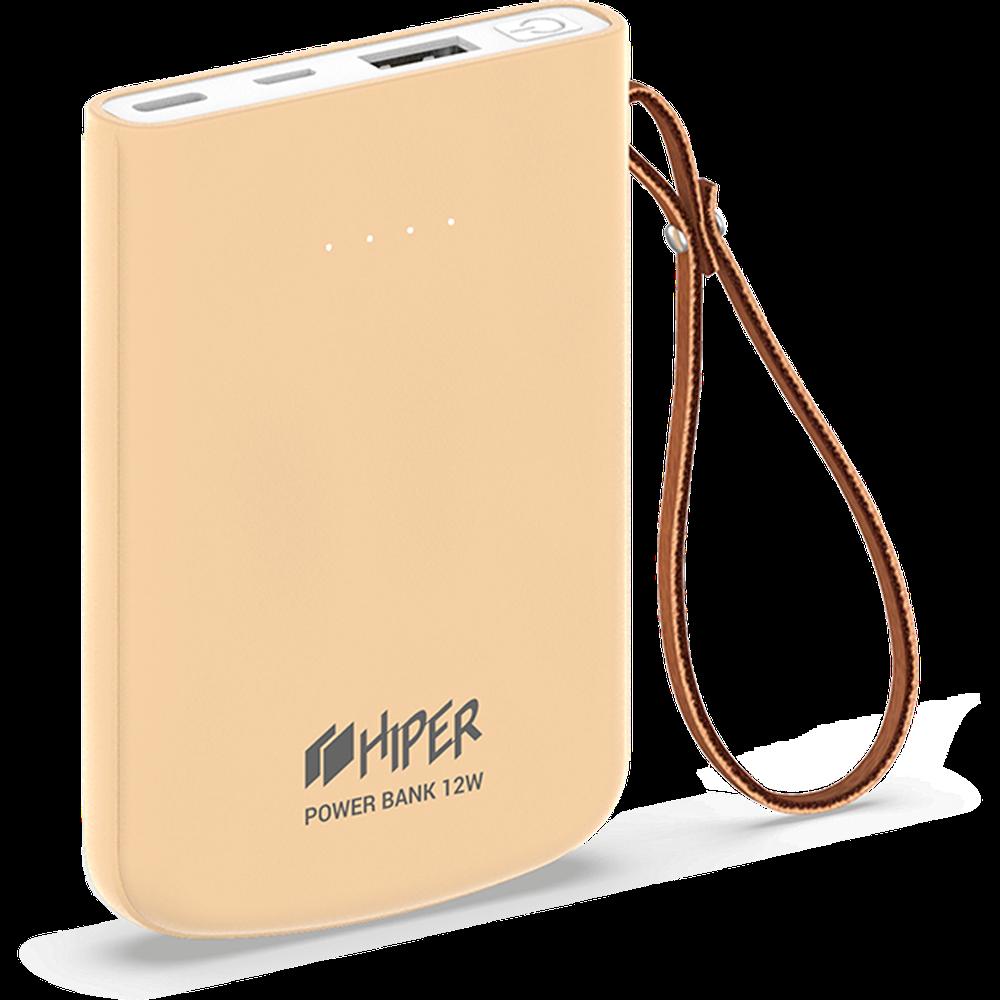 Фото - Внешний аккумулятор HIPER Travel5k 5000mAh розовый внешний аккумулятор hiper mps10000 10000mah синий