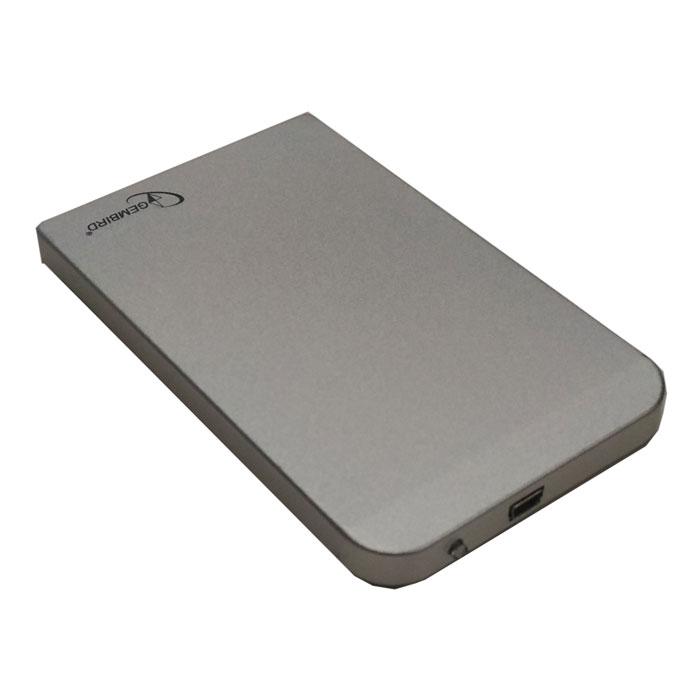 Фото - Корпус 2.5 Gembird EE2-U2S-41-S, SATA-USB2.0 Silver корпус 2 5 gembird ee2 u3s 60 sata usb3 0 black
