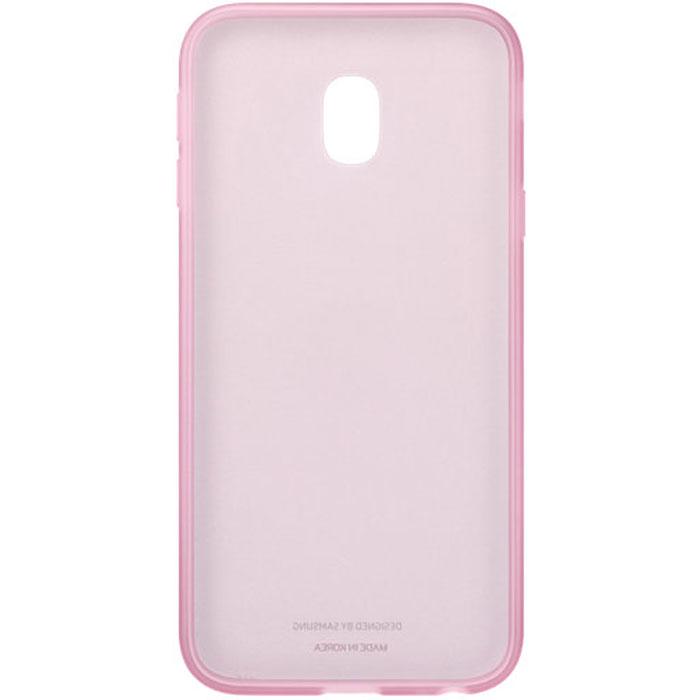 Чехол для Samsung Galaxy J3 (2017) SM-J330F Jelly Cover розовый недорого