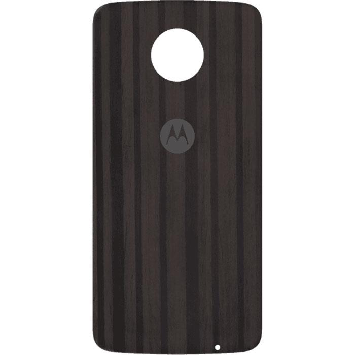 Cменная панель для Motorola Moto Z/Moto Z Play черно-коричневый (ASMCAPCHAHEU)