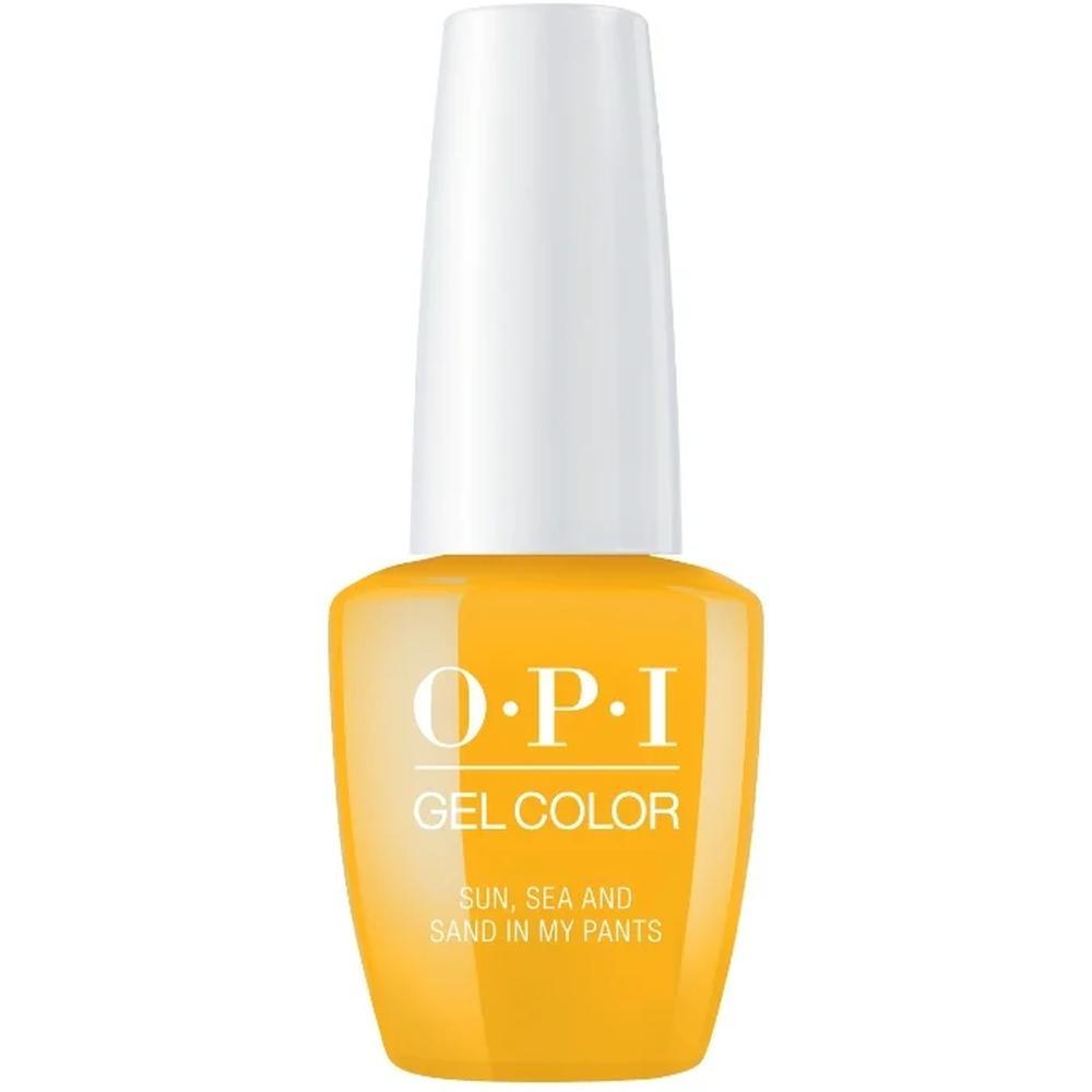 OPI Гель-лак для ногтей GelColor Lisbon Sun, Sea, and Sand in My Pants, 15 мл. гель лак для ногтей opi gelcolor lisbon 15 мл tagus in that selfie