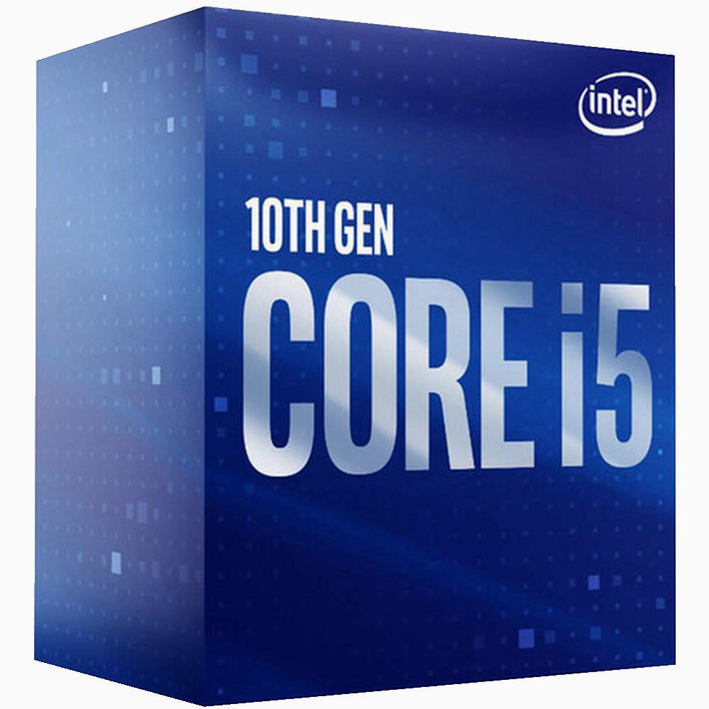 Процессор Intel Core i5-10400, 2.9ГГц, (Turbo 4.3ГГц), 6-ядерный, L3 12МБ, LGA1200, BOX процессор intel core i9 10900k 3 7ггц turbo 5 3ггц 10 ядерный l3 20мб lga1200 box